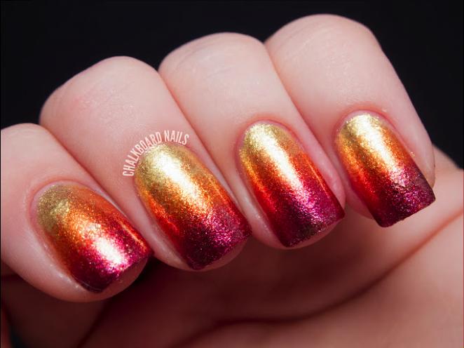 10 Colourful Fall Nail Art Ideas Sparkly Polish Nails