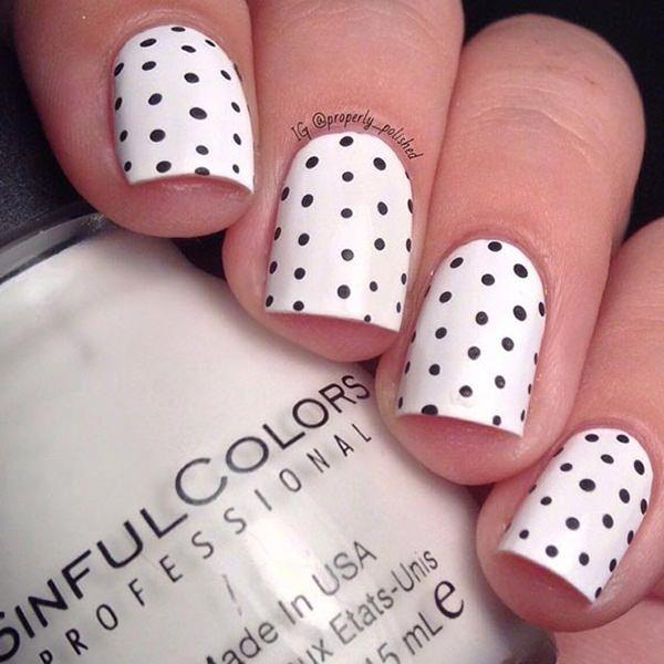 10 Fabulous Ideas For White Nail Polish Sparkly Polish Nails