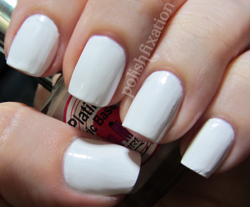 10 Fabulous Ideas For White Nail Polish Sparkly Polish Nails