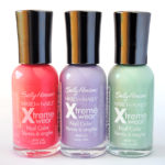 Sally Hansen Xtreme Wear Nail Color Spring Swatches