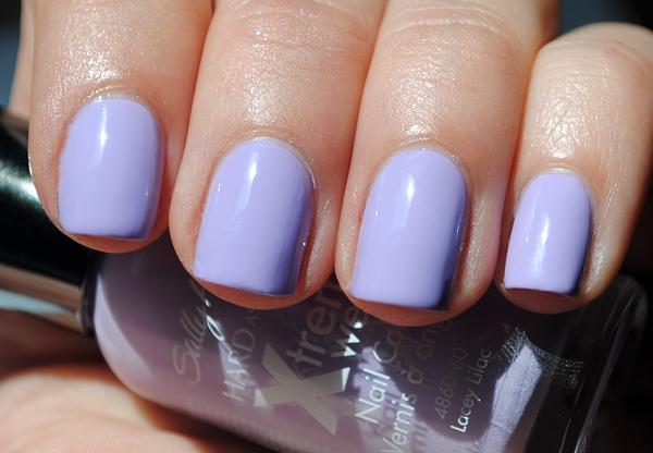 Pastel Lilac Nail Polish - Nail Ftempo