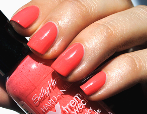 Sally Hansen Coral Reef Nail Color Swatch