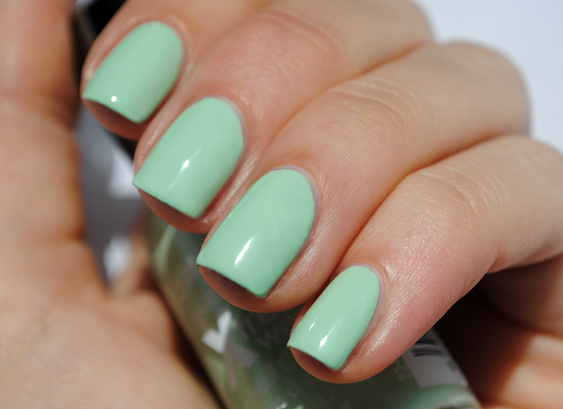 Sally Hansen Mint Sorbet Nail Polish Swatch