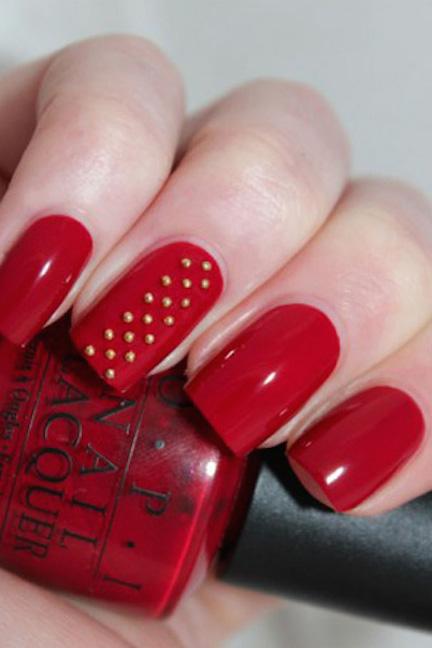 Top 10 Christmas Nail Designs Sparkly Polish Nails
