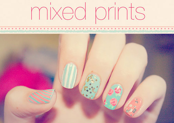 Fashionable Colors And Nail Art Designs For Short Nails Sparkly