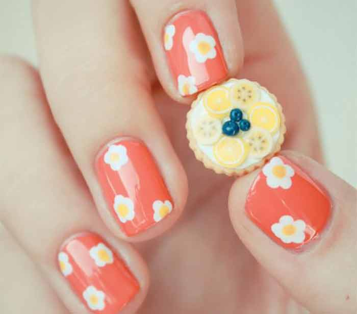 Fashionable Colors and Nail Art Designs for Short Nails - Sparkly ...