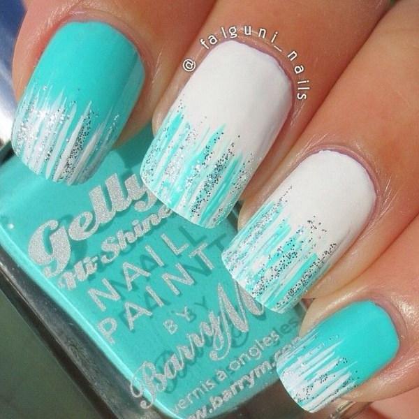 Sparkly Polish Nails