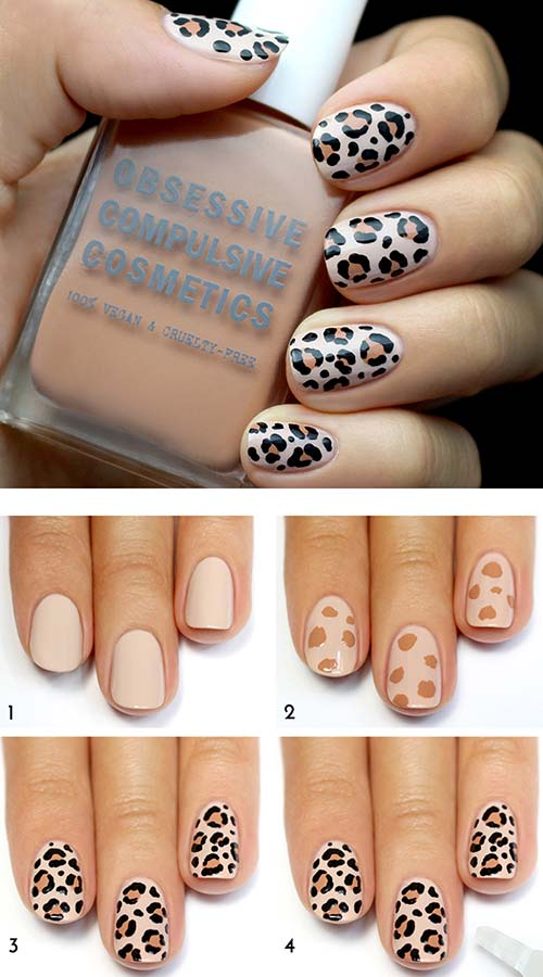 you now have the cute nails to show off im sure you will get many words of flattery for this classic design