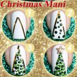Holiday Nail Design Tutorials (Picture Guides)