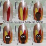 Fall-themed Nail Arts