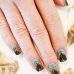 Feathered Manicure Nail Art Tutorial