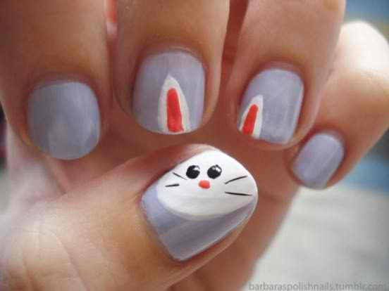 Simple nail designs for kids and teens to do at home - Cute nail art designs to do at home ...