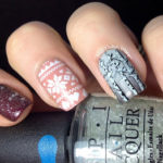 Wintry Nail Art