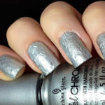 Review for China Glaze Crinkled Chrome Collection + Swatch