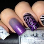 Leopard and Zebra Manicure