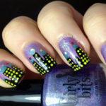 City Skyline-inspired Manicure