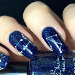 Zodiac Constellations Nail Art