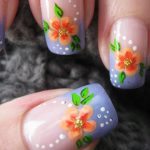 10 Gorgeous Floral Nail Art Designs