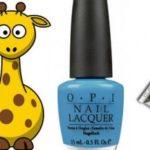 Giraffe  Nail Art