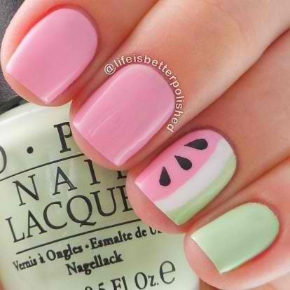simple nail designs for kids and teens to do at home