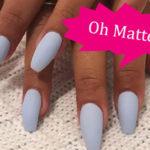 Fashionable Matte Nail Polish Styles