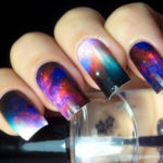 Galaxy Nails Wraps