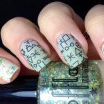 Runes nail design