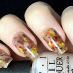 Easy Tortoise Shell Nail Art