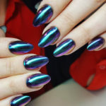 Metallic Nail Stickers and Manicures to Try