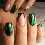 How Cool are Geometric Nail Arts and Nail Stickers?