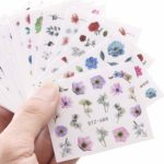 Top Nail Polish Strips and Nails Stickers For Hands and Feet